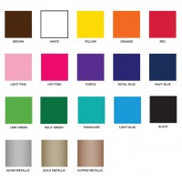 Free Personalization Colors