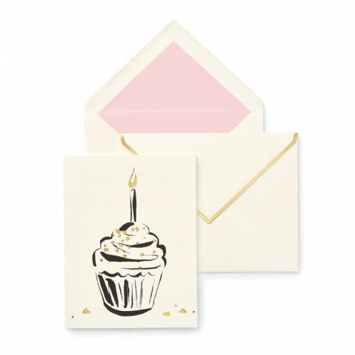 Kate Spade New York Cupcake Birthday Card