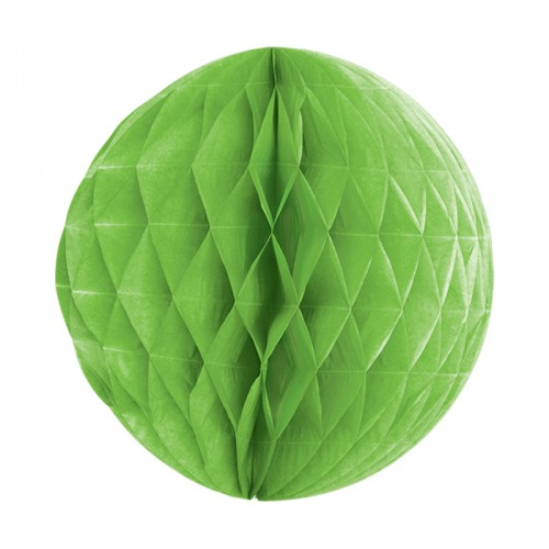 Lime Green Honeycomb Ball Decoration