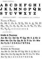Text Fonts