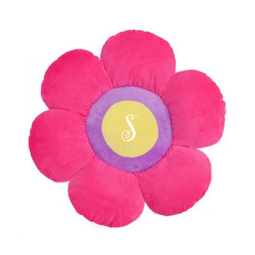 Floor Bloom Power Pink Flower Floor Pillow