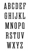 Traditional Monogram Chart