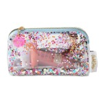 Packed Party In A Cinch Confetti Cosmetic Bag