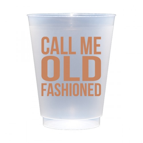 Call Me Old Fashioned Frost Flex Cups