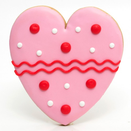 Image result for heart cookie