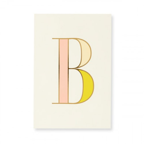 kate spade new york initial notepad b