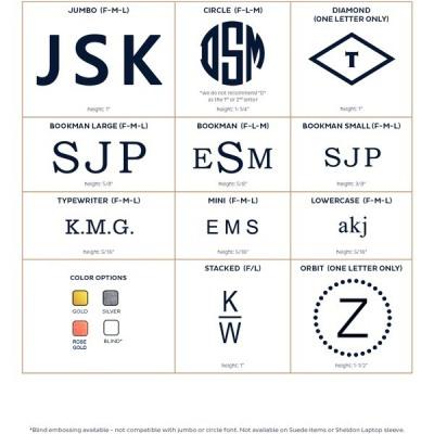 Personalization Fonts & Colors