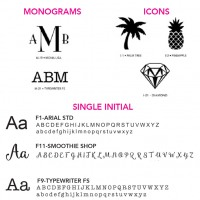 Font Styles And Icons