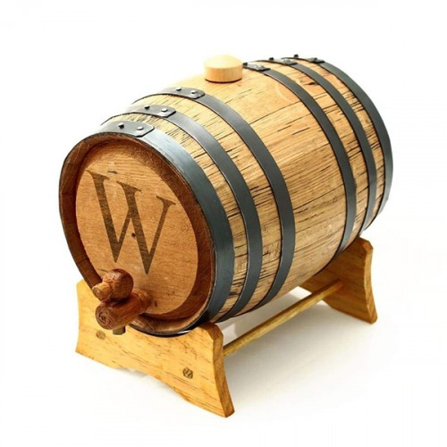 Personalized Mini Whiskey Bluegrass Barrel