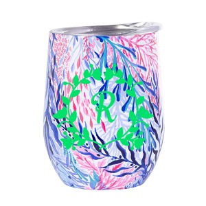 Lilly Pulitzer Kaleidoscope Coral Insulated Stemless Tumbler