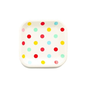 8911930c8f0d Hip Hip Hooray Polka Dot Plates