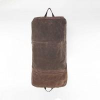Olive Waxed Canvas Garment Bag